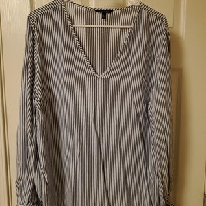 Banana Republic striped blouse size XL
